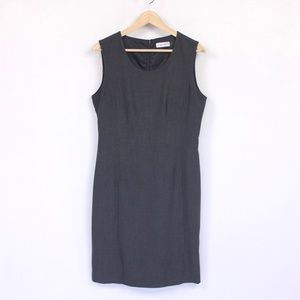 Dark Grey Fitted Dress {Calvin Klein}